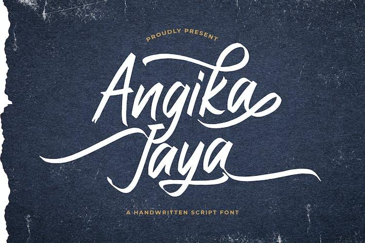 Thumbnail for Angika Jaya - Fuente manuscrita