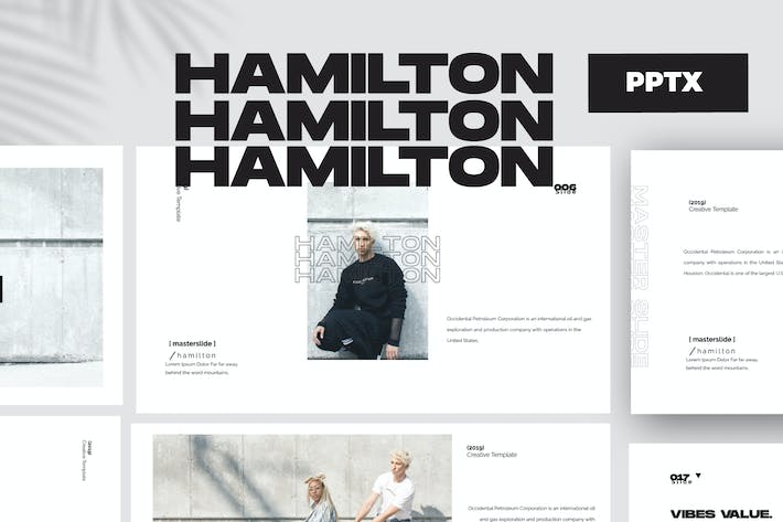 Thumbnail for HAMILTON - Powerpoint Business Corporate