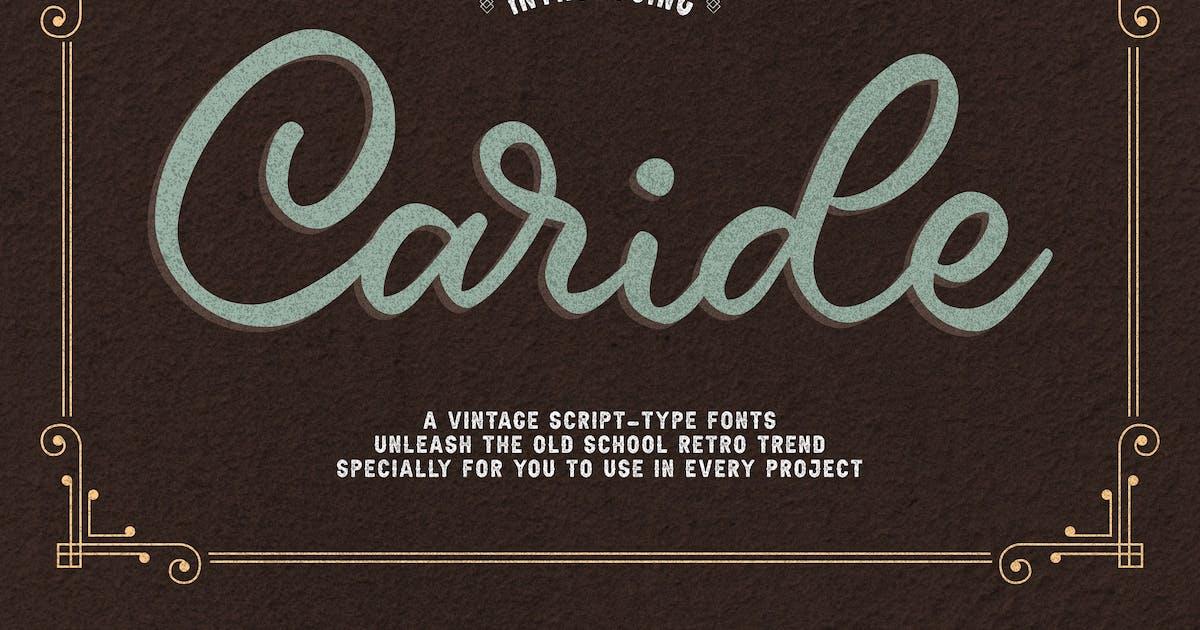 Download Vintage Script Font by Krafted