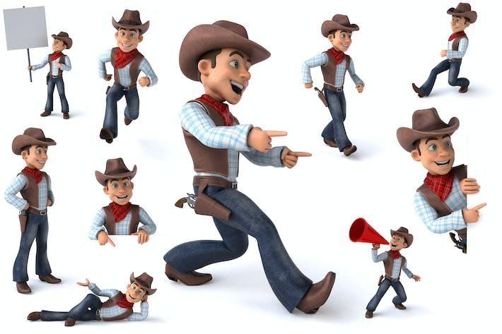 Thumbnail for 10 fun Cowboys !