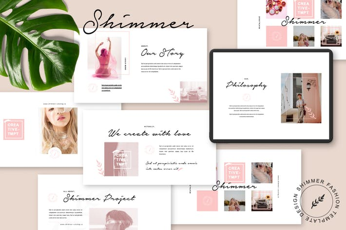 Thumbnail for Shimmer Brand Catalogue Keynote