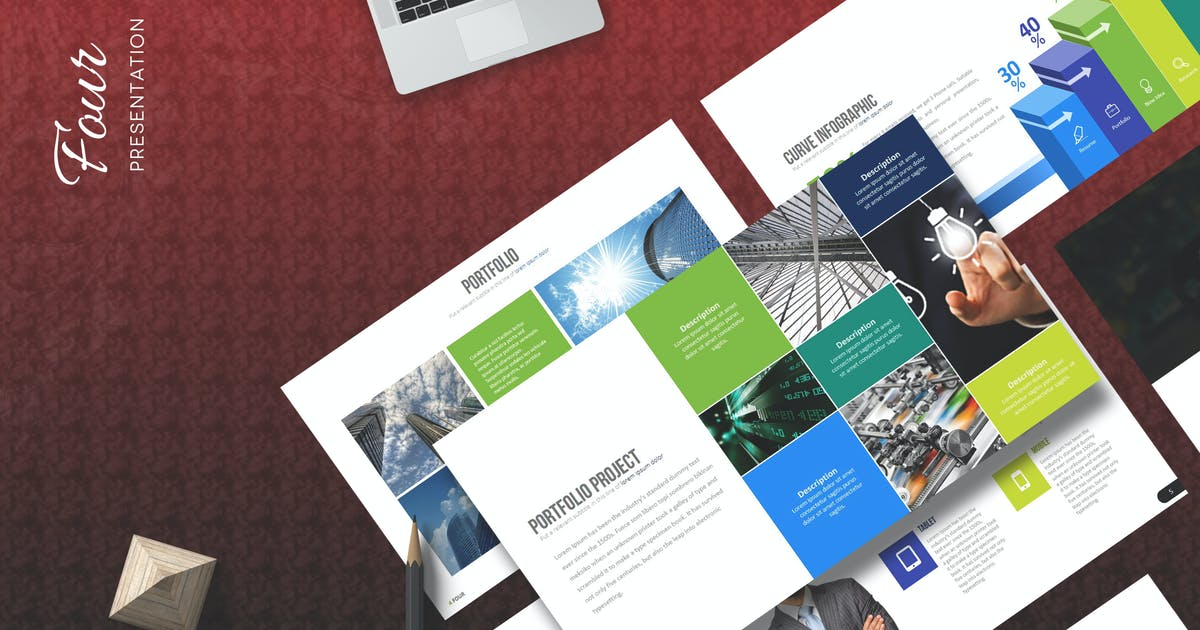 Download Four - Keynote Template by Artmonk