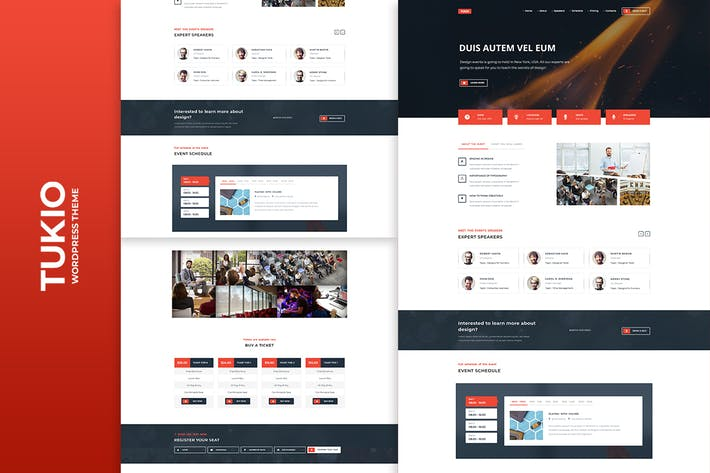 Thumbnail for Tukio | Event Landing Page WordPress Theme