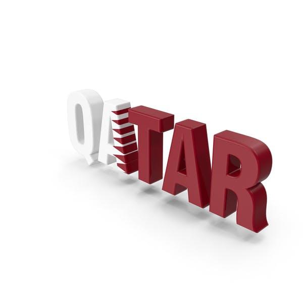 Thumbnail for Qatar Text