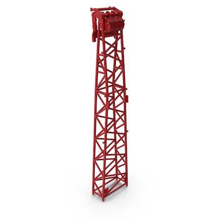 Crane WA Frame 2 Head Section Red
