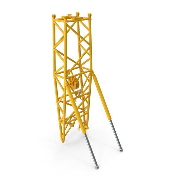 Кран WA Рамка 2 Поворотная секция Желтый