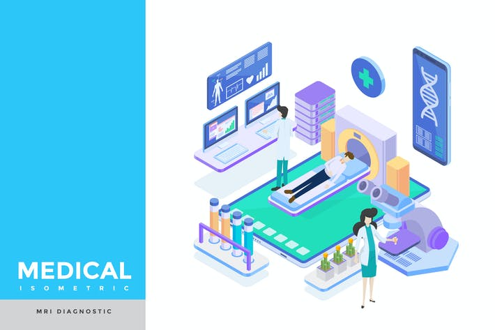 Thumbnail for MRI Medical Isometric
