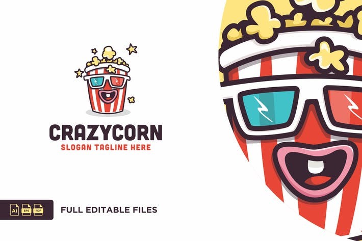 Thumbnail for Widtemp - Corn Logo Template
