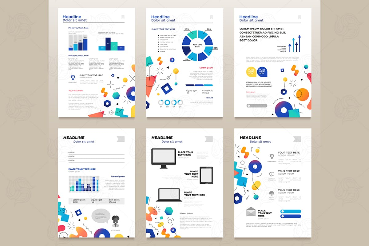 Download Presentation booklets - a4 pages templates set by BoykoPictures by Unknow