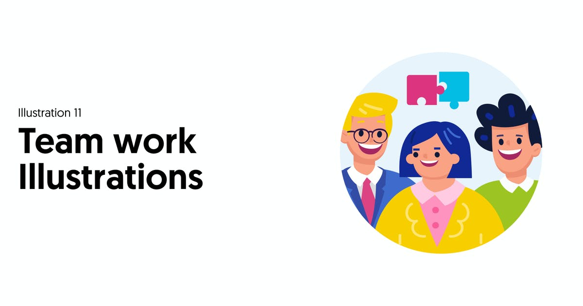 Download Teamwork Illustrations by thedighital