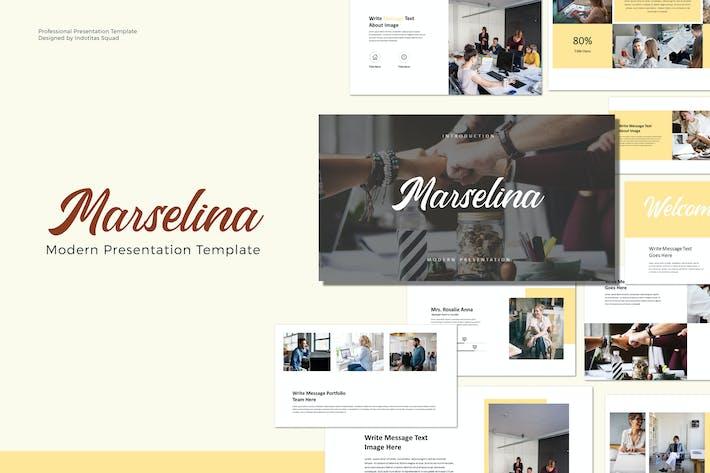 Thumbnail for MARSELINA - Шаблон Keynote