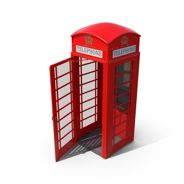 Thumbnail for British Telephone Box