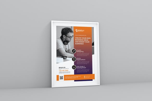 Corporate Flyer - product preview 0