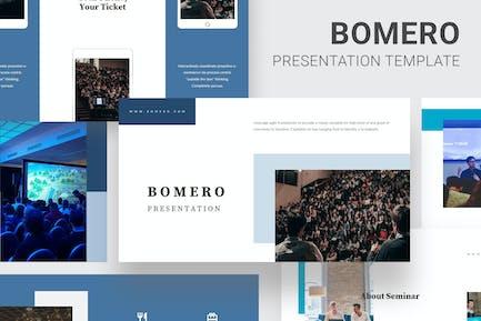 Bomero - Webinar Event Powerpoint