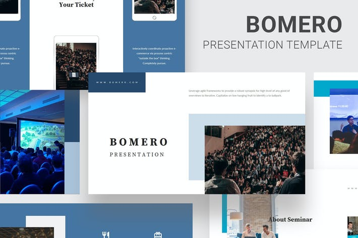 Thumbnail for Bomero - Webinar Event Powerpoint