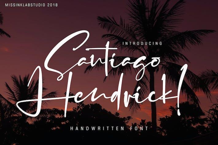 Thumbnail for Santiago Hendrick!