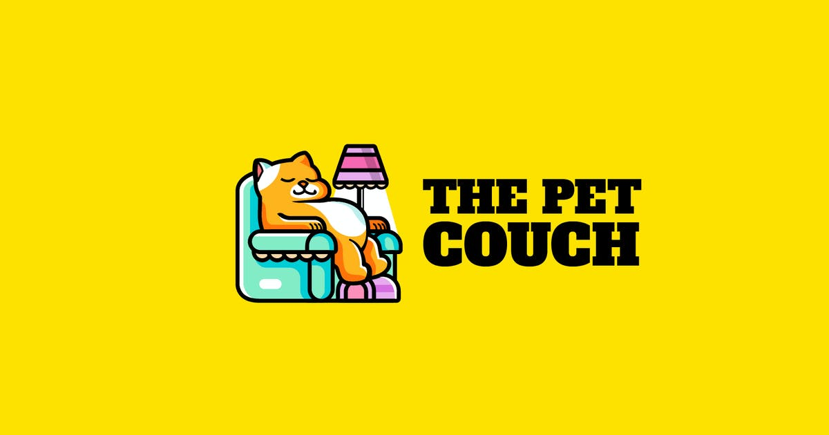 Download pet couch - Mascot & Esport Logo by aqrstudio