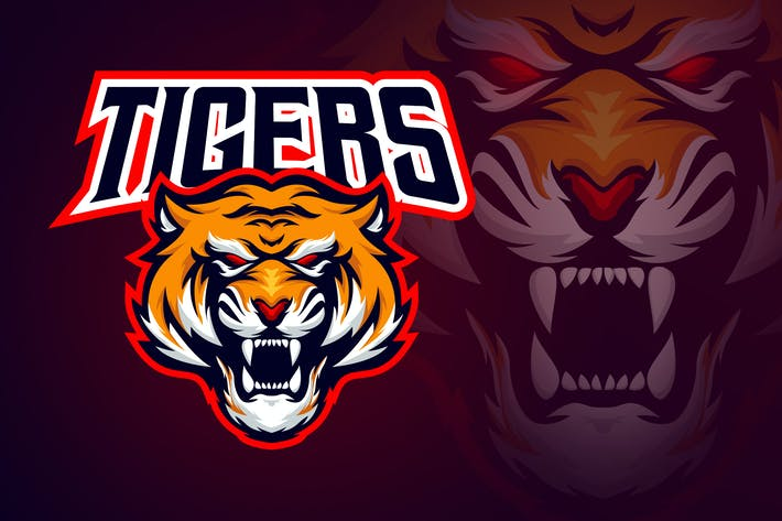Thumbnail for Evil Angry Tiger Esport Logo
