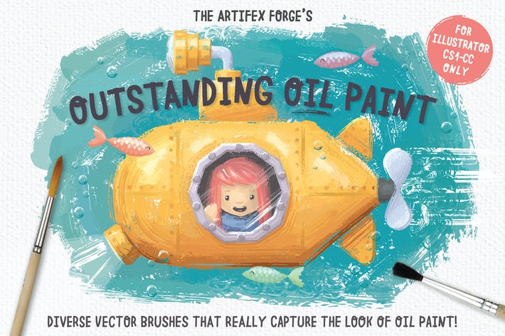 Cover Image For Outstanding Oil Paint Brushes