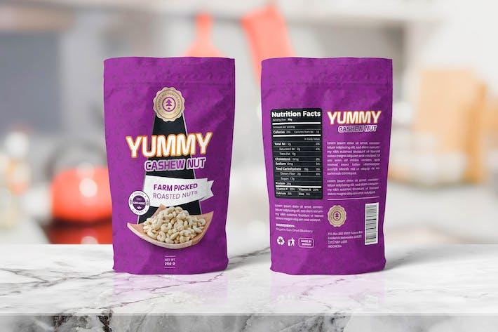 Thumbnail for Lebensmittelbeutel VerpackungsVorlagen