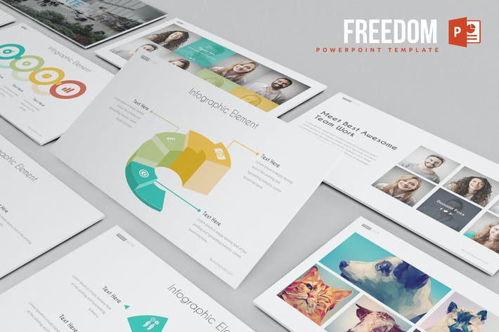 Thumbnail for Freedom Powerpoint Template