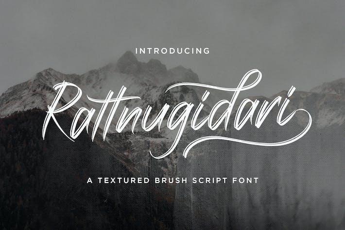 Thumbnail for Rattnugidari - Fuente de escritura de pincel