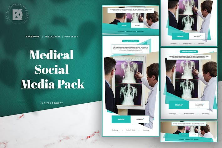 Thumbnail for Medical Social Media Pack