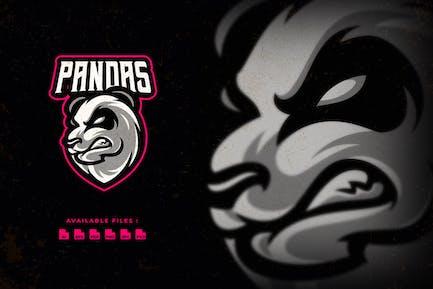 Head Panda Sport and Esport Logo