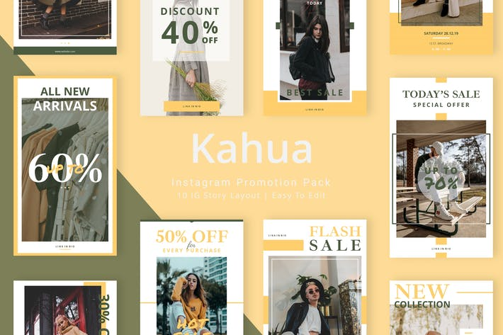 Thumbnail for Kahua - Instagram Story Pack