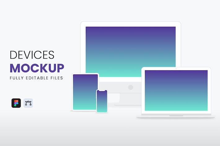 Thumbnail for Democ Devices Mockup