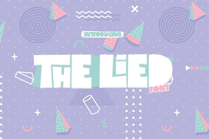 Thumbnail for The Lied Font