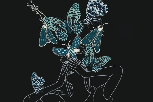 Illustration - Butterfly Invasion