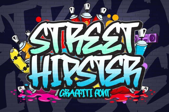 Thumbnail for Шрифт граффити уличного хипстера
