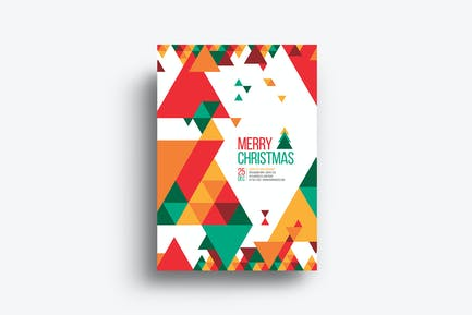 Minimal Christmas Flyer