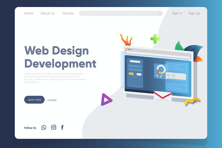 Thumbnail for Web - Banner & Landing Page