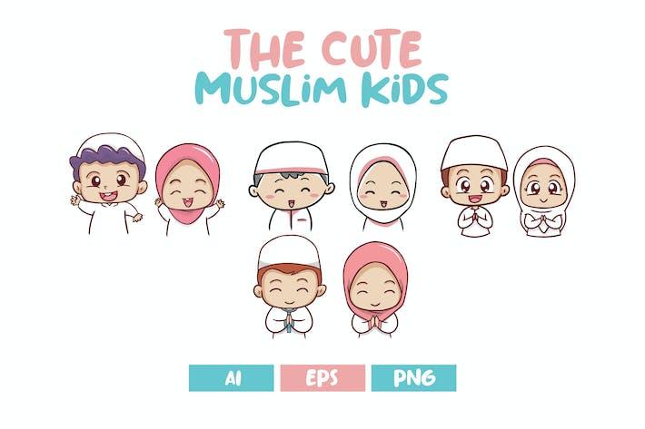 The Cute Muslim Kids