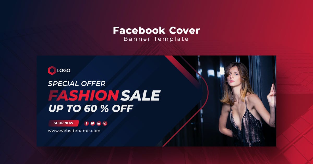 Download Fashion Sale Facebook Cover Template by PrexTheme