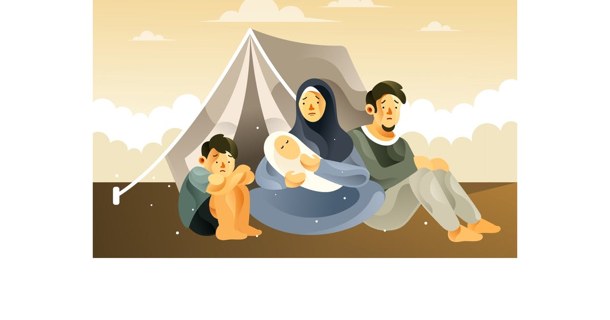 Download The Refugee Family Life in the Refugee Camp by IanMikraz