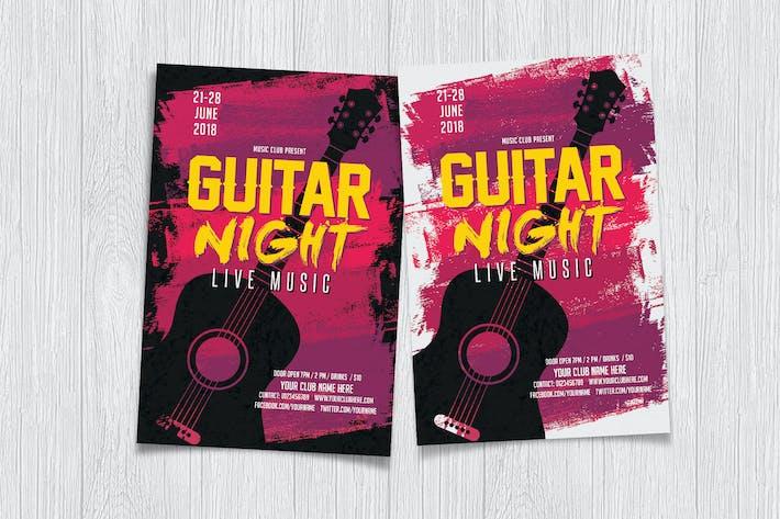 Thumbnail for Guitar Night Flyer