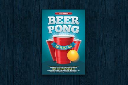 Bière Pong/Bière Party dépliant