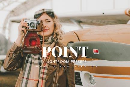 Point Lightroom Presets Dekstop and Mobile