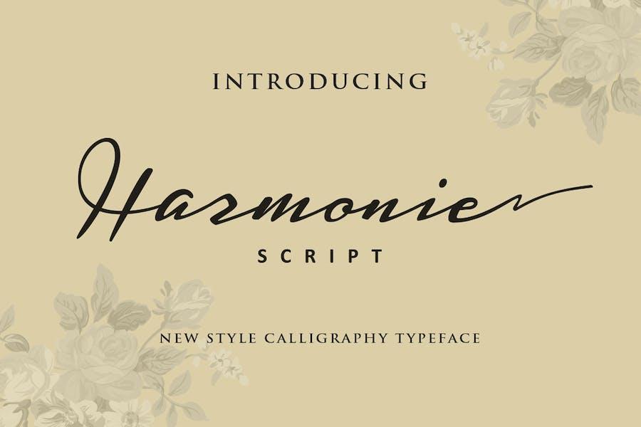 Harmonie Script