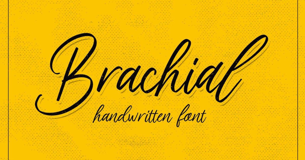 Download Brachial Script by graptailtype