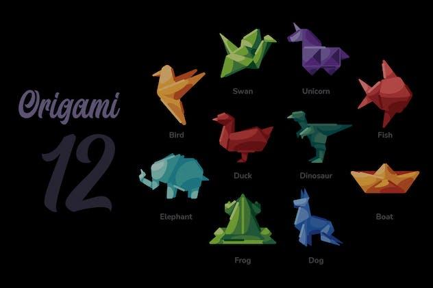 Origami - Illustration Sets