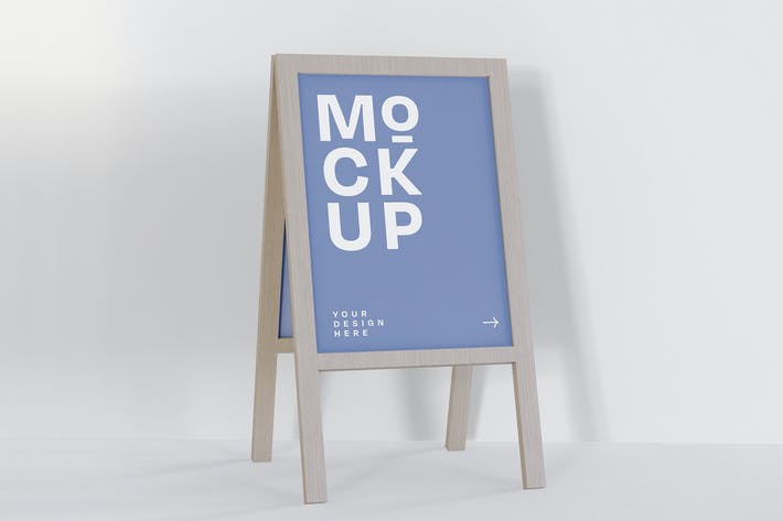 Thumbnail for Signboard Mockup