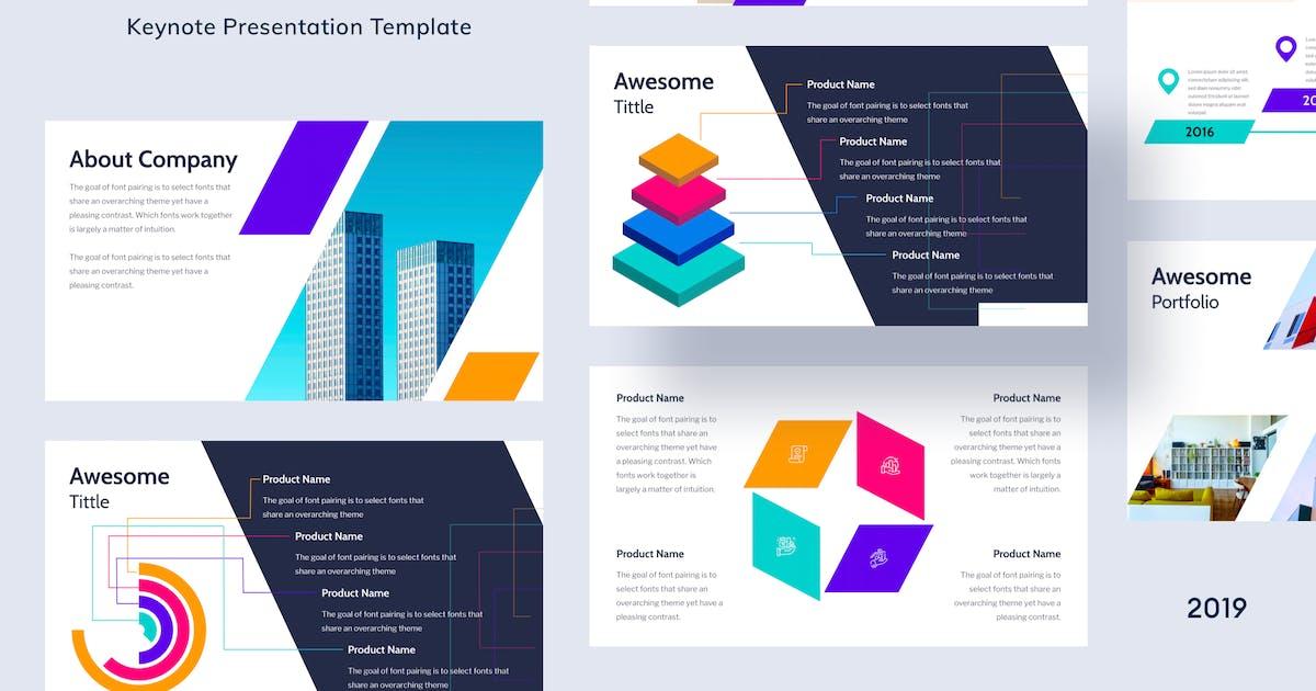 Download Geometric - Keynote Template - [code M] by GranzCreative