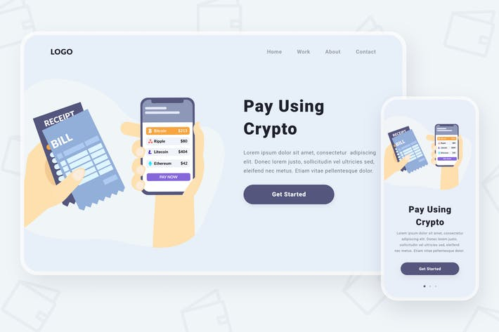 Thumbnail for Paying via cryptocurrencies