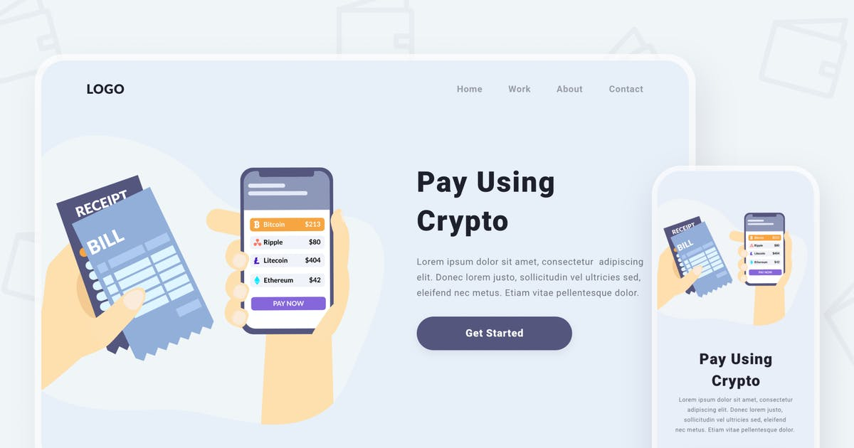 Download Paying via cryptocurrencies by buydesign