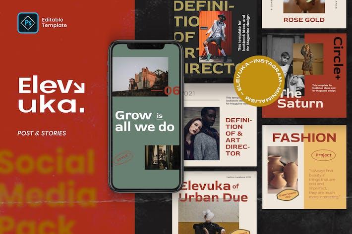 Elevuka - Publier et histoire Instagram Vol.1