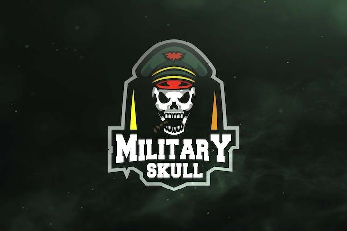 Military Skull Sport and Esports Logos